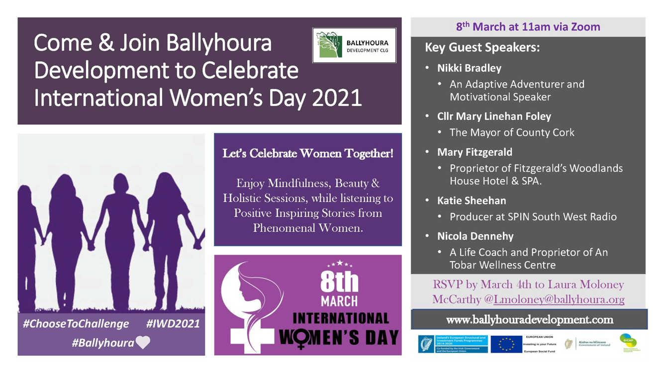 Ballyhoura International Womens Day