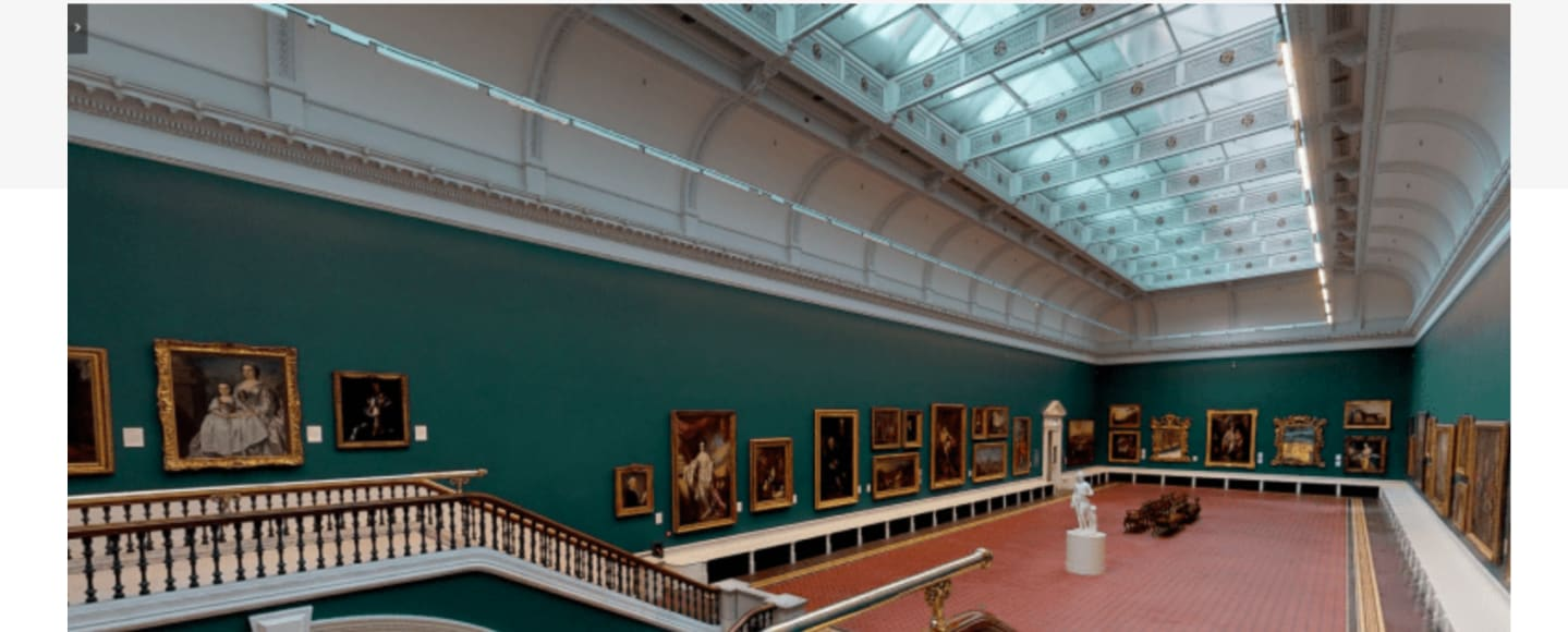 Virtual tour of the National Gallery of Ireland